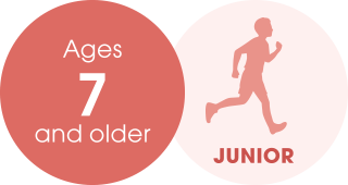 Ages 7 and older JUNIOR